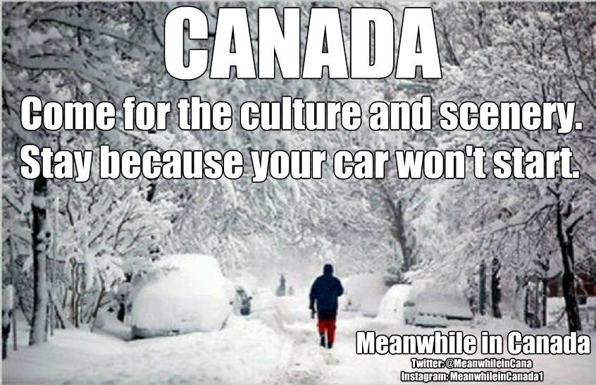 Meanwhile in Canada -