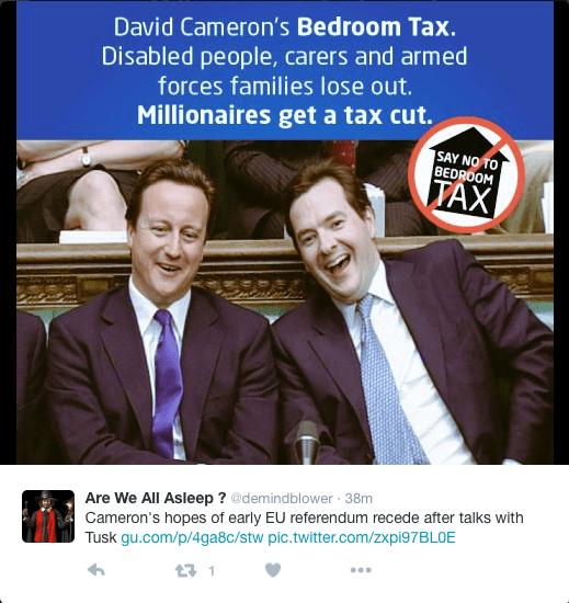 Bedroom Tax.