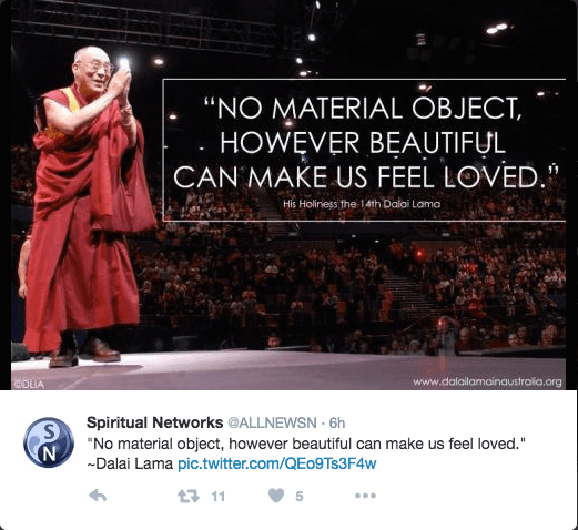 Material Objects Don't Love You.