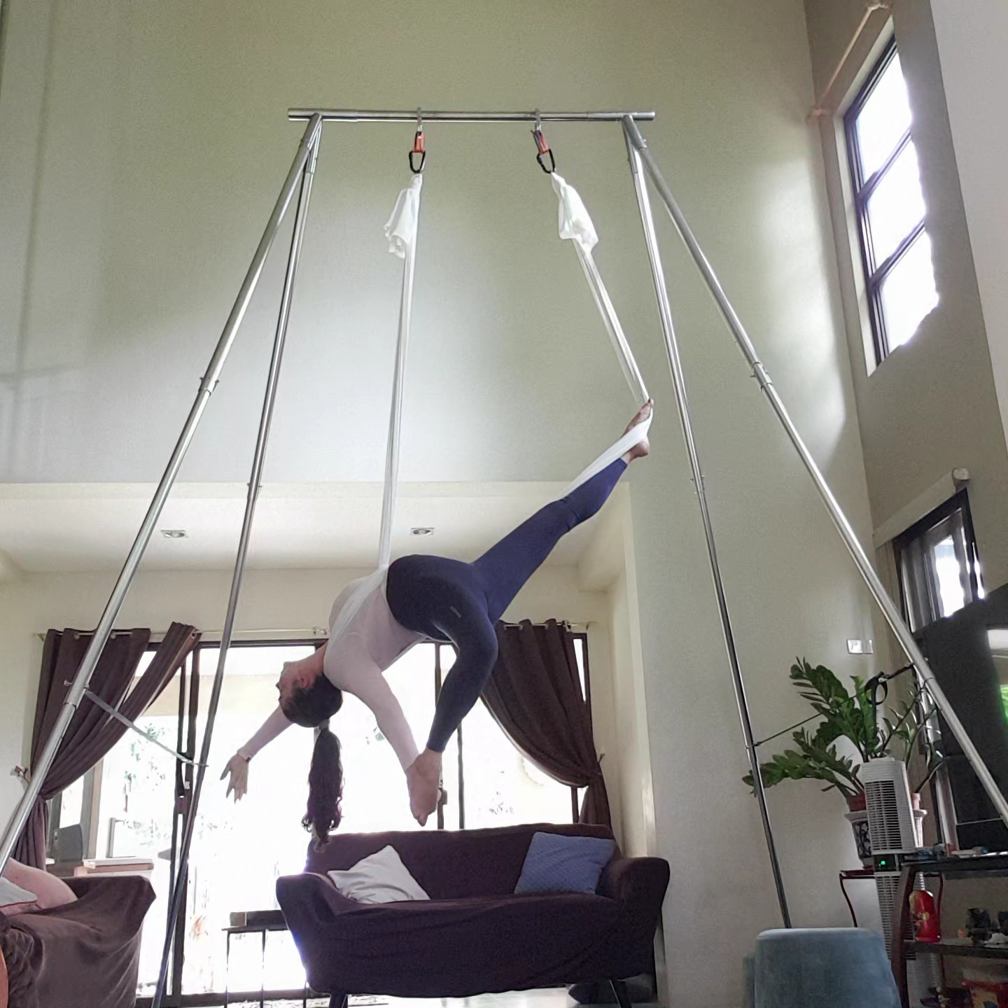 Aerial Fitness Dance Flow