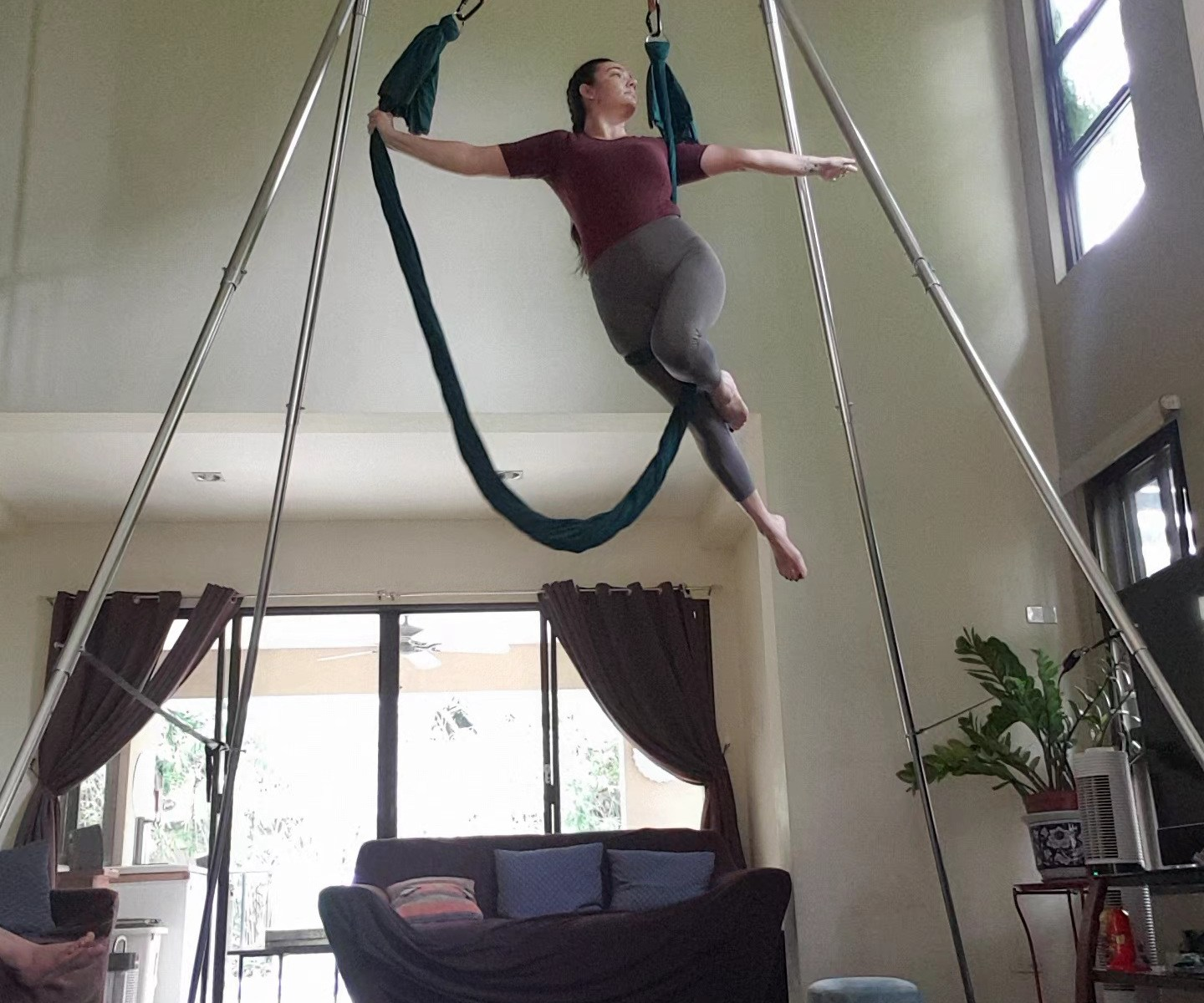 Aerial Fitness Flow