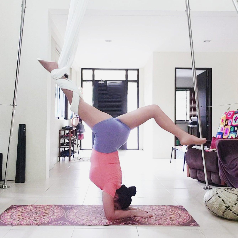 Aerial Yoga Pincha