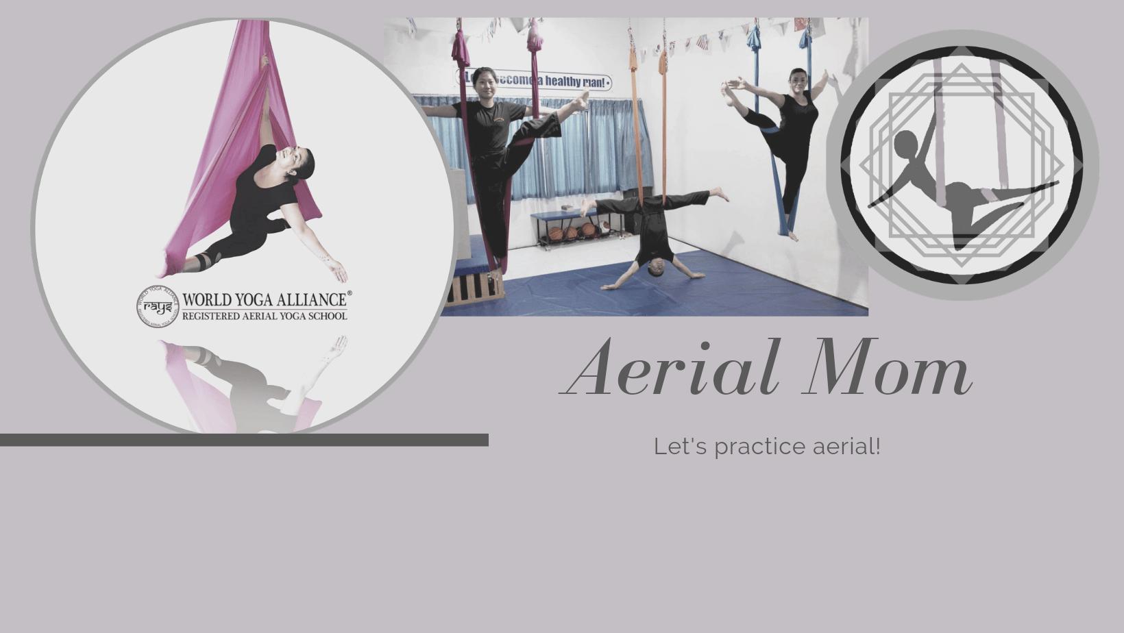 Registered Aerial Yoga Teacher