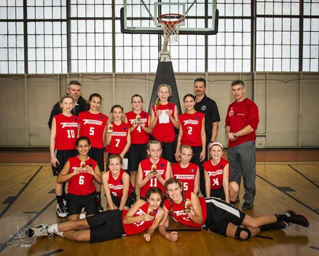 Transway U12 Atom Basketball Champions