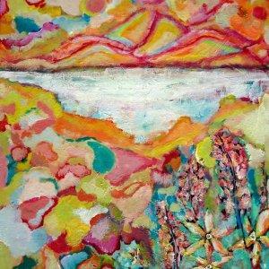 Colorful Sunrise Painting