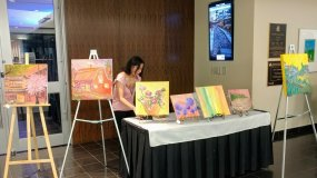 Magical Art Night At Edmonton Convention Center