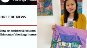 CBC News Interviews My Art & Heritage Homes