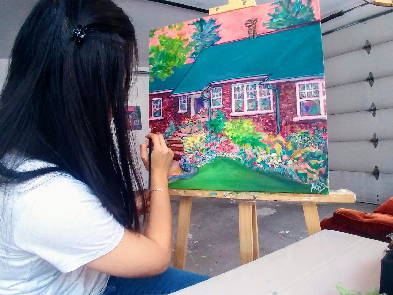 Aeris Osborne Custom House Painting