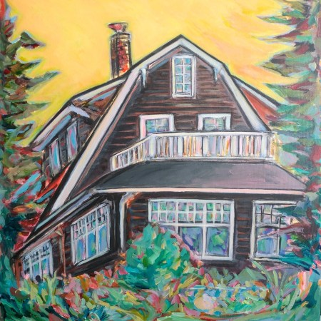Glenora Dutch Colonial House Painting