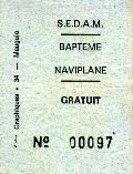 Un ticket de baptême à bord du N102