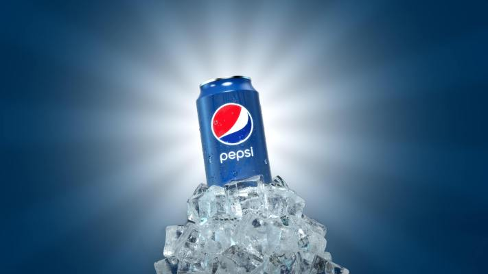 Pepsi Can on Ice