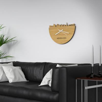 Heerenveen Skyline Oak Clock Couch