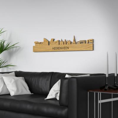 Heerenveen Skyline Oak Wall Couch