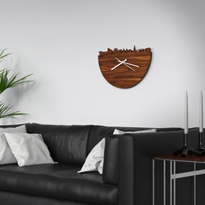 Heerenveen Skyline Rosewood Clock Couch