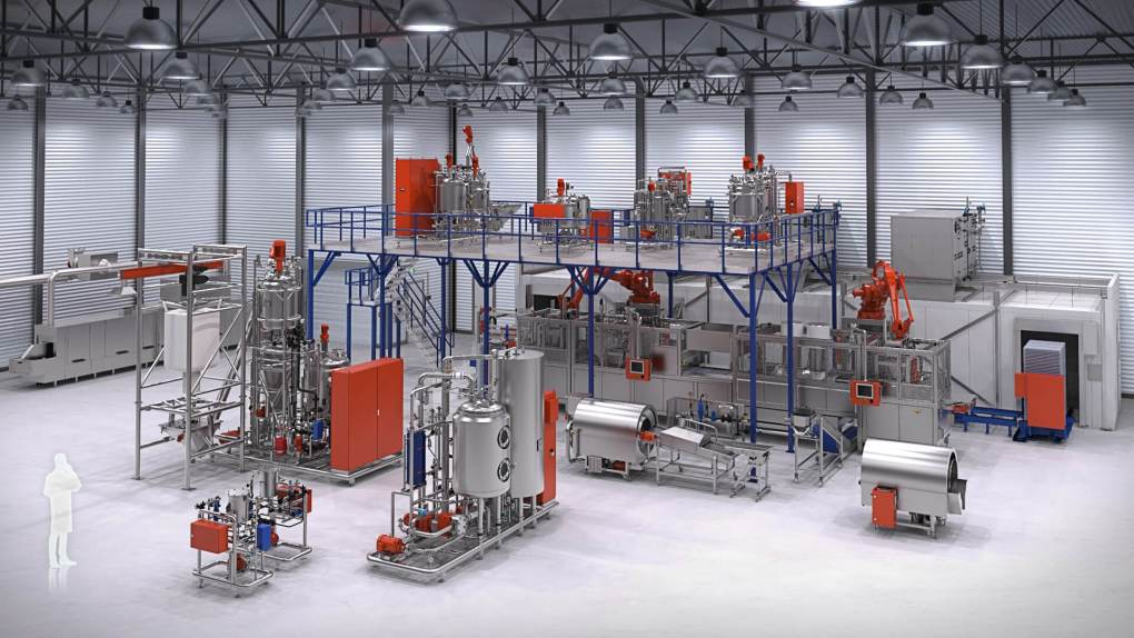 Tanis Factory Visualization - 800 Robotic NS
