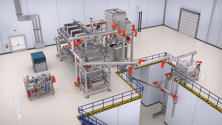 Tanis Factory Visualization - Starch Conditioning