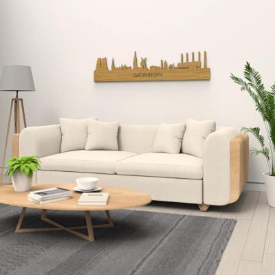 Groningen Old Skyline Oak Wall Couch