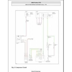 Pontiac GTO System Wiring Diagrams 2006 $595