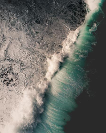 Long Reef Break Aerial
