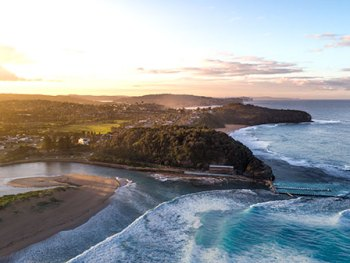 Aerial View of North Narrabeen Beach