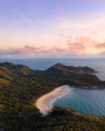 Magnetic Island Sunrise Aerial