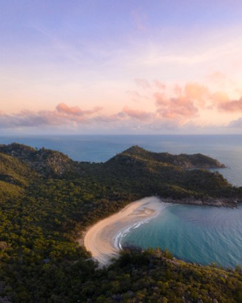 Magnetic Island Sunrise Aerial