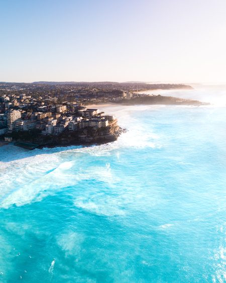 Queenscliff At Sunrise Aerial