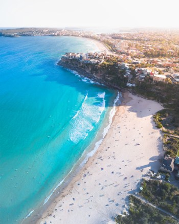 Aerial Of Freshwater Beach