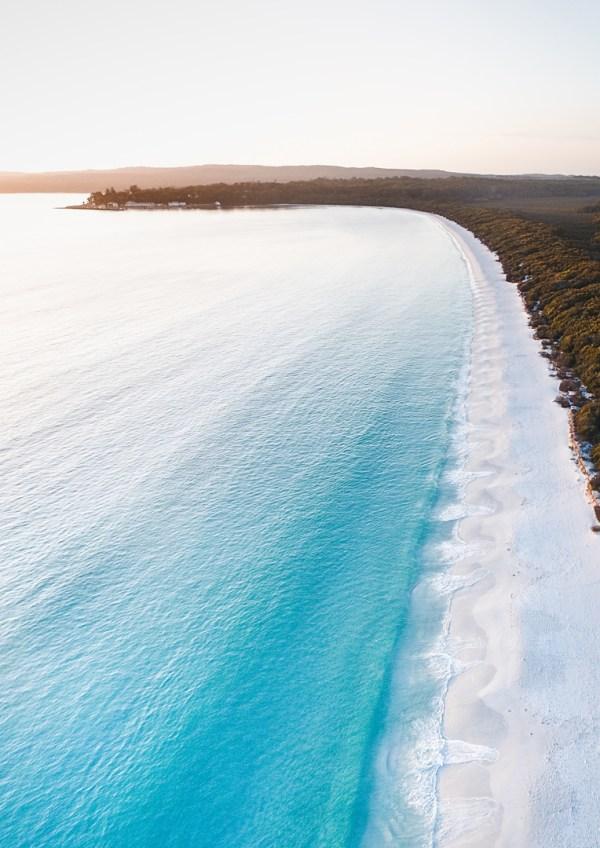 Hyams Beach Aerial