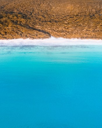 Aerial Of Jervis Bay
