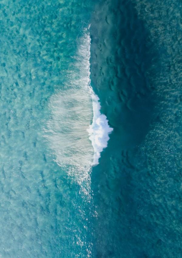 Ocean Aerial Wall Print
