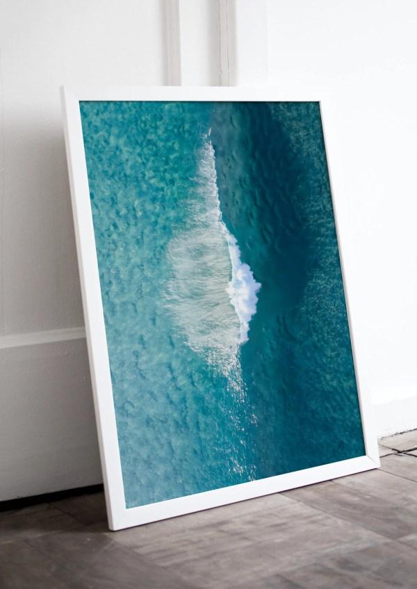 Ocean Drone Fine Art Print