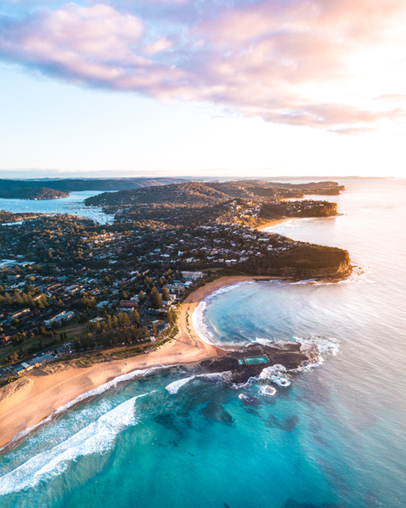 Aerial Of Mona Vale