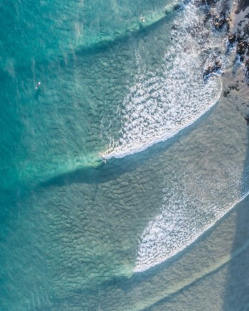 Waves Captured From Above