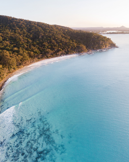 Aerial Of Tea Tree Bay