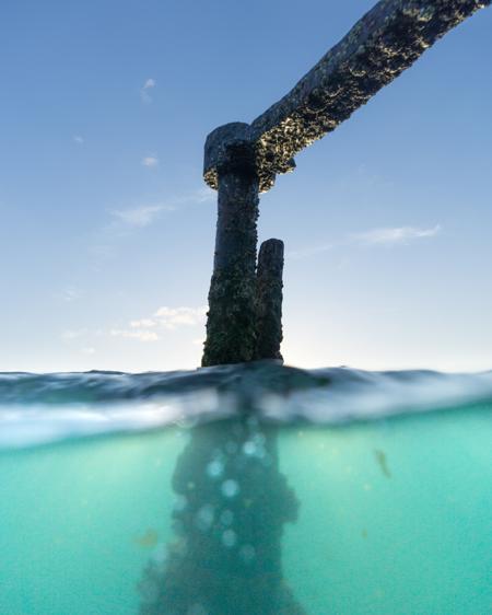 Underwater Photo of Shipwreck
