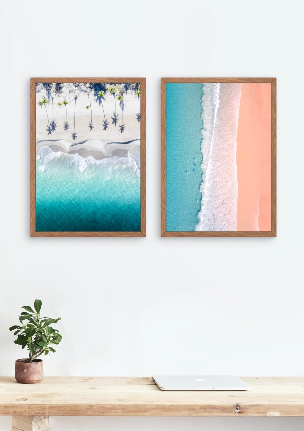 Tropical Coastal Photography Print