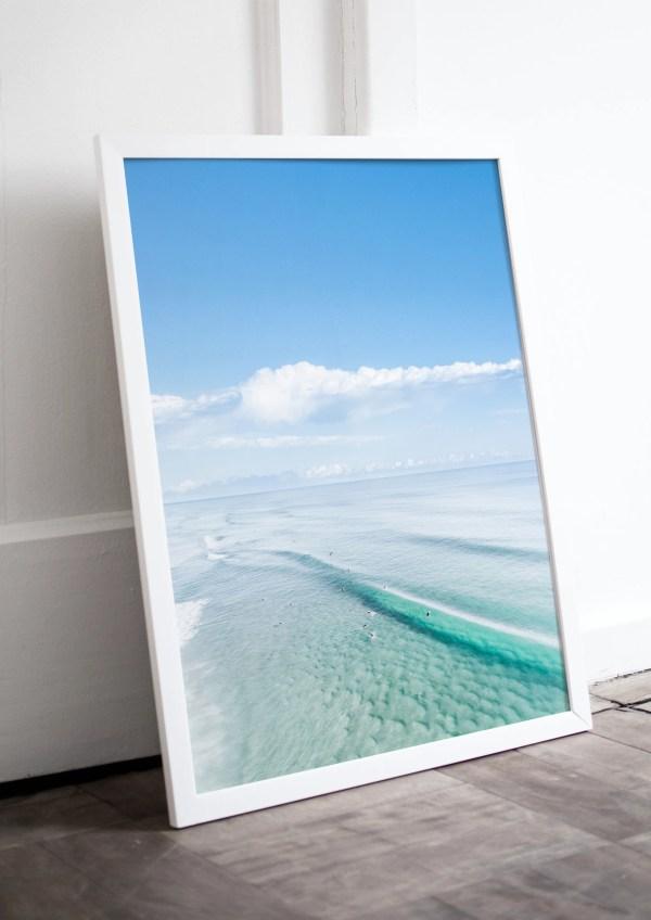 Ocean Aerial Photography Print