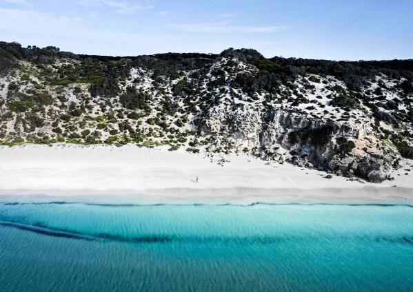 Kangaroo Island Emu Bay Aerial Photography Print