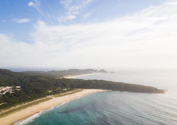 Aerial Print of Treachery Beach