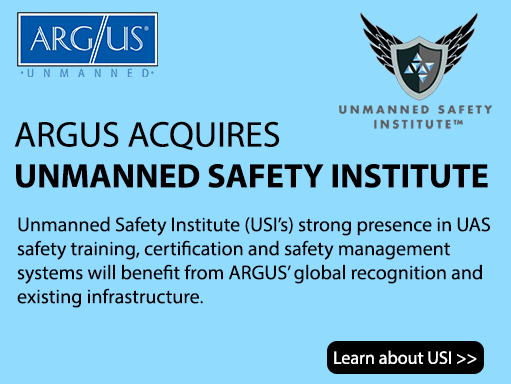 ARGUS Completes Acquisition of Unmanned Safety Institute (USI)