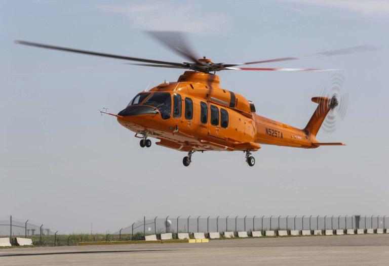 Bell 525 flight test vehicle crashes