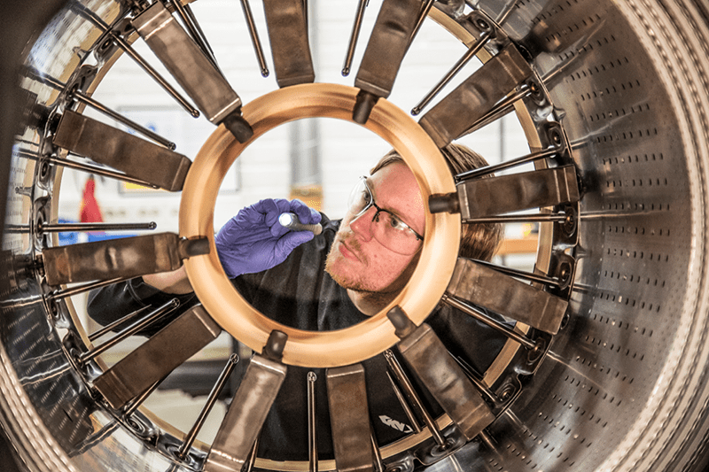 GKN Aerospace continues to support the Gripen's RM12 engine