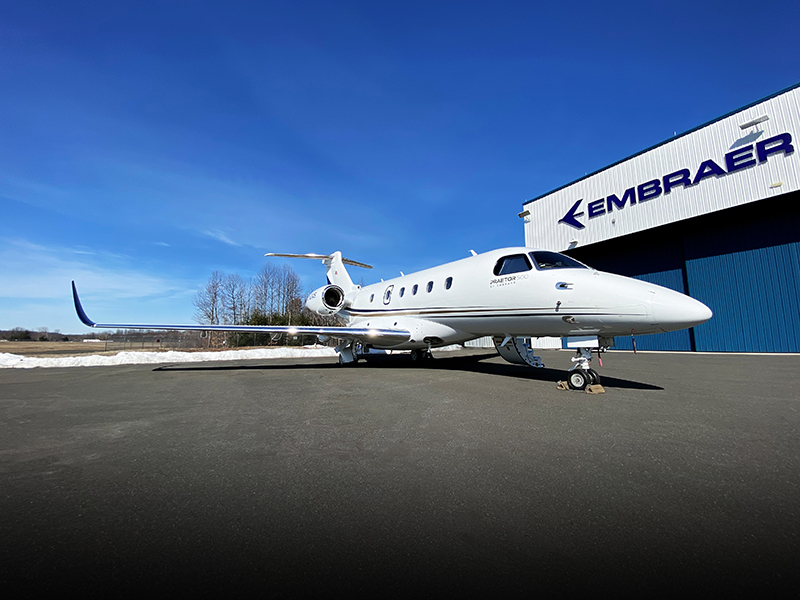 Embraer Delivers a New Praetor 500 Conversion to AirSprint