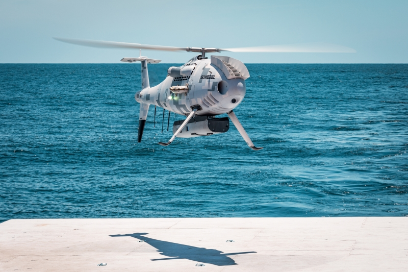 SCHIEBEL CAMCOPTER® S-100 SUCCESSFULLY COMPLETES FLIGHT TRIALS FOR US NAVY
