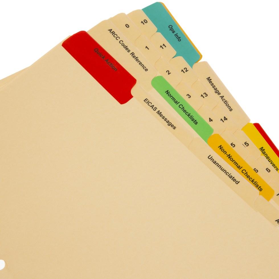 pilot checklist printing services