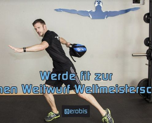 aerobis gets you in shape for the Handtaschen Weitwurf Weltmeisterschaft
