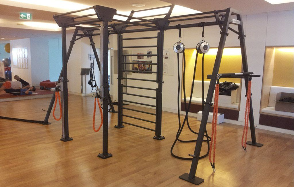 Alfa Sports in Salzburg has a separate functional training area