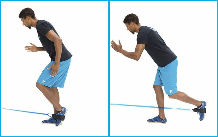 alphaband strength training exercise hip extension