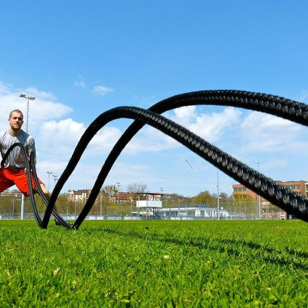 Battle Rope outdoor training
